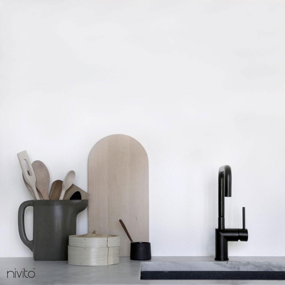 Küche armatur schwarz