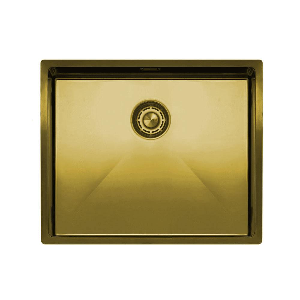 Messing/Gold Küchenbecken/Küchenspülen - Nivito CU-500-BB