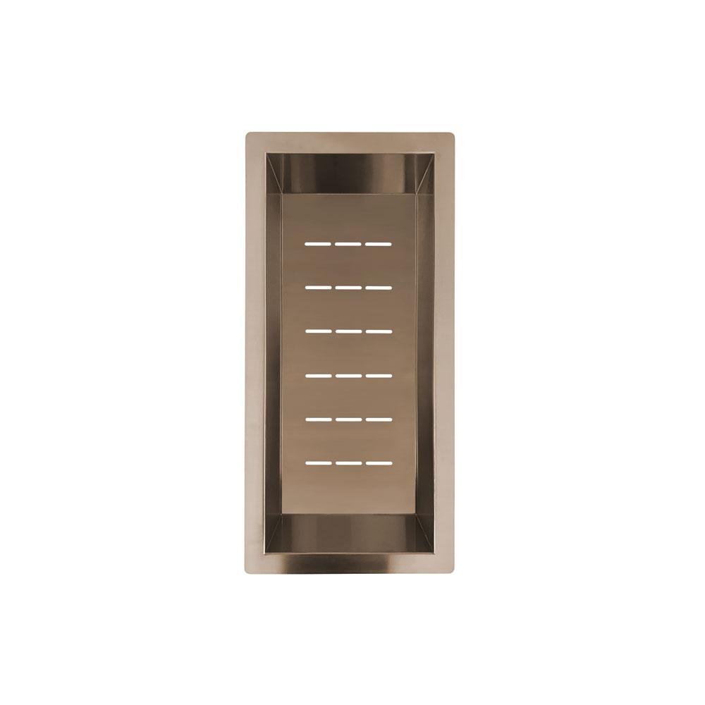 Kupfer Sieb Schüssel - Nivito CU-WB-200-BC