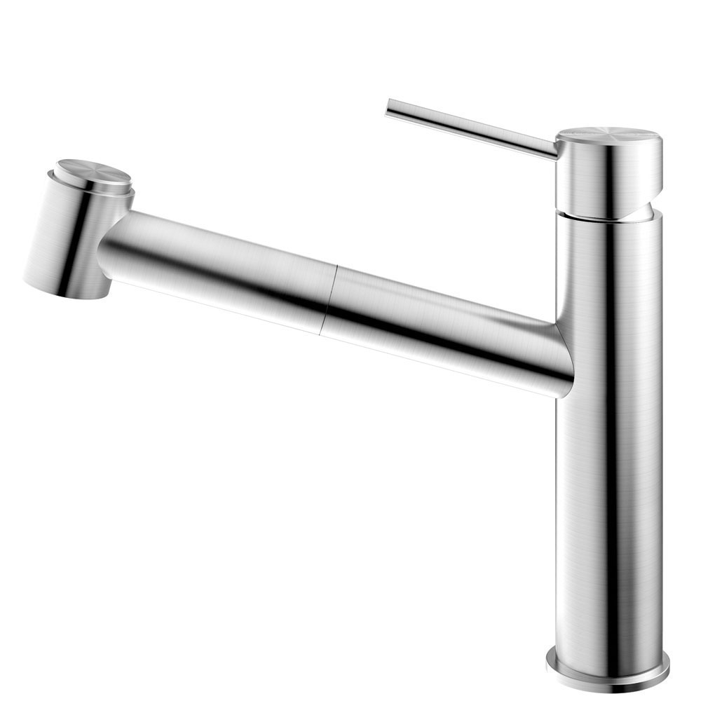 Edelstahl Küche Wasserhahn Ausziehbarer Schlauch - Nivito EX-800