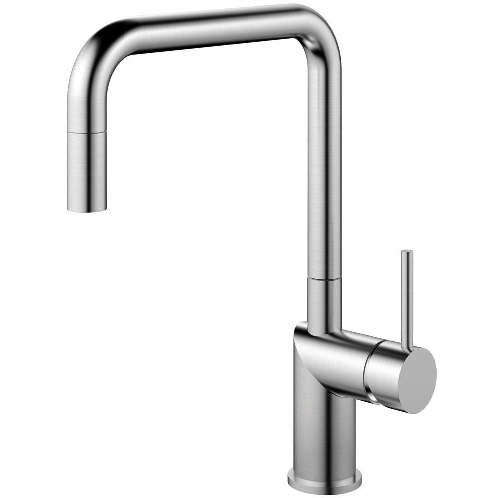 Edelstahl Küche Wasserhahn Ausziehbarer Schlauch - Nivito RH-300-EX