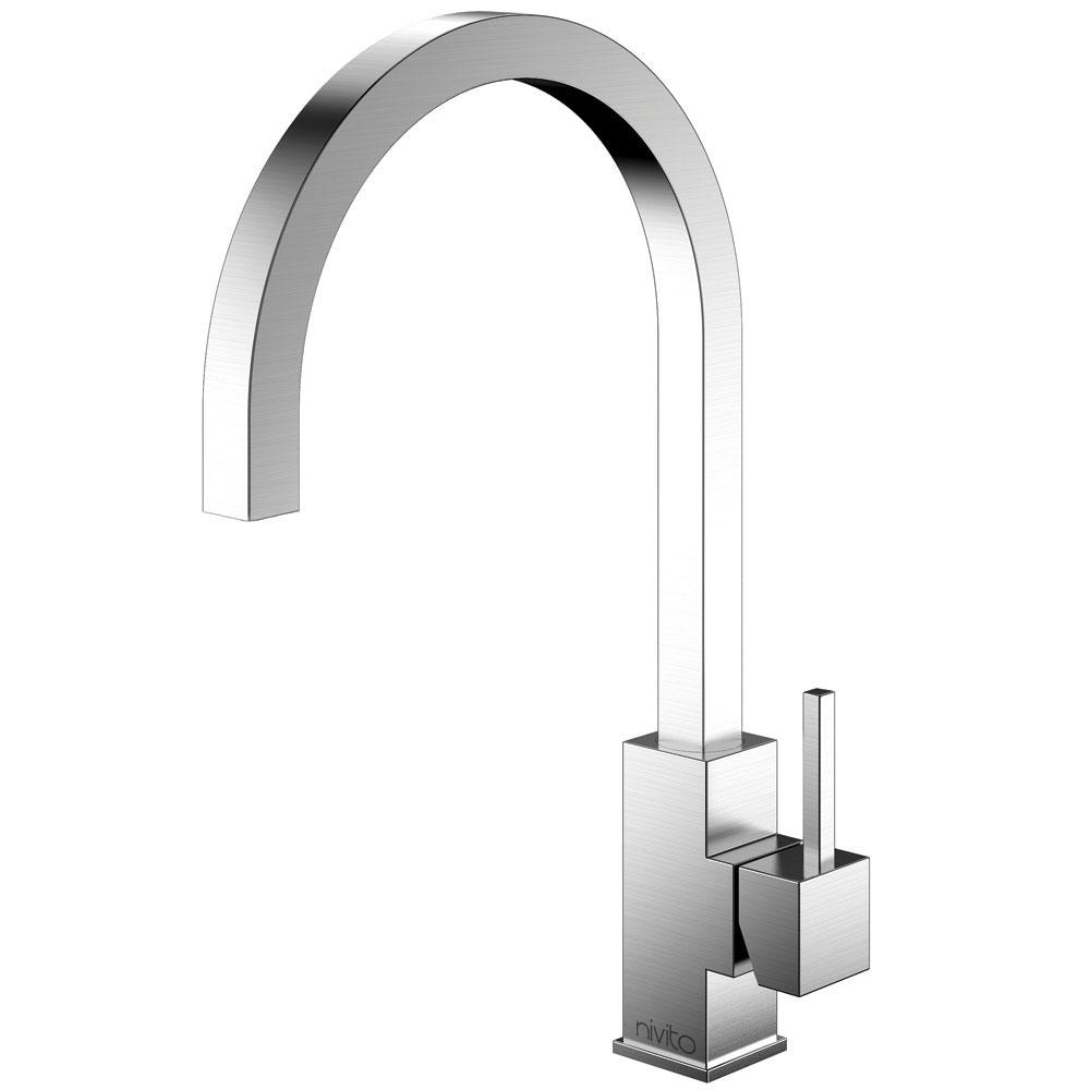 Edelstahl Küche Wasserhahn - Nivito SP-100