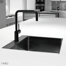 Schwarz Küchenarmatur - Nivito 1-RH-320
