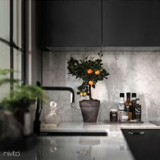 Schwarz Küchenarmatur - Nivito 10-RH-320