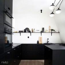 Schwarz Küchenarmatur - Nivito 13-RH-320