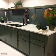 Schwarz Küchenarmatur - Nivito 14-RH-320