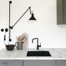 Schwarz Küchenarmatur - Nivito 16-RH-320