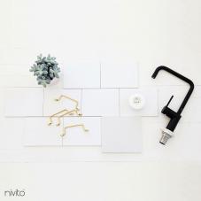 Schwarz Küchenarmatur - Nivito 19-RH-320