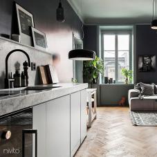 Schwarz Küchenarmatur - Nivito 2-RH-120