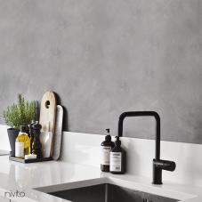 Schwarz Küchenarmatur - Nivito 2-RH-320