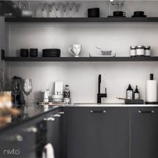 Schwarz Küchenarmatur - Nivito 21-RH-320