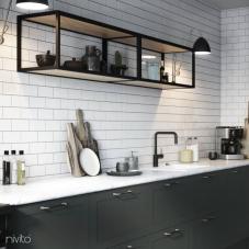 Schwarz Küchenarmatur - Nivito 22-RH-320