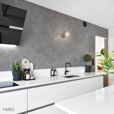 Schwarz Küchenarmatur - Nivito 4-RH-320