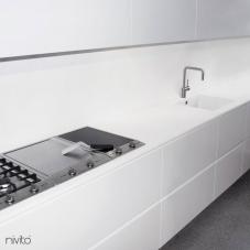 Edelstahl Küchenarmatur - Nivito 5-RH-300