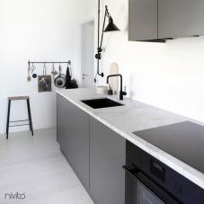 Schwarz Küchenarmatur - Nivito 5-RH-320