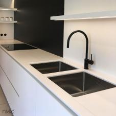 Schwarz Küchenarmatur - Nivito 6-RH-120