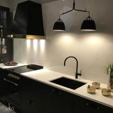 Schwarz Küchenarmatur - Nivito 7-RH-120