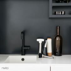 Schwarz Küchenarmatur - Nivito 7-RH-320