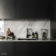 Schwarz Küchenarmatur - Nivito 8-RH-320