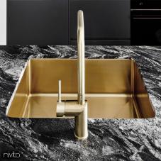Messing/Gold Küche Waschbecken - Nivito 1-CU-500-BB