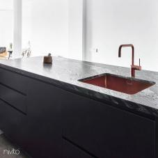 Küchenwaschbecken kupfer