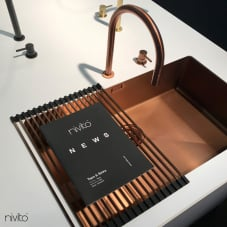 Kupfer Küche Waschbecken - Nivito 1-CU-700-BC