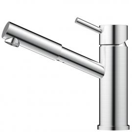 Edelstahl Badezimmer Wasserhahn - Nivito FL-20