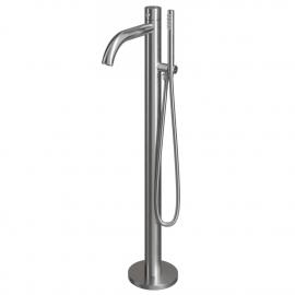 Edelstahl Alleinstehend Badewanne Wasserhahn - Nivito CR-10