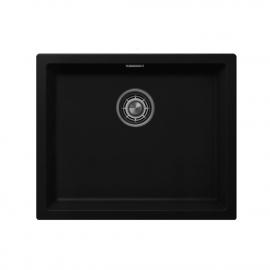 Schwarz Küche Waschbecken - Nivito CU-500-GR-BL
