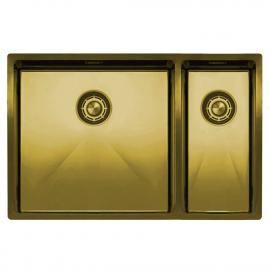 Messing/Gold Küchenbecken/Küchenspülen - Nivito CU-500-180-BB