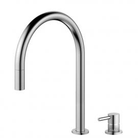 Edelstahl Küche Wasserhahn Ausziehbarer Schlauch / Getrenntes Körper/Rohr - Nivito RH-100-VI