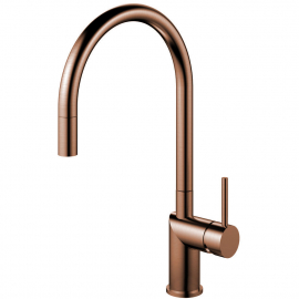 Kupfer Küche Wasserhahn Ausziehbarer Schlauch - Nivito RH-150-EX