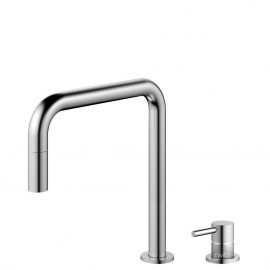 Edelstahl Küchenarmatur Ausziehbarer Schlauch / Getrenntes Körper/Rohr - Nivito RH-300-VI