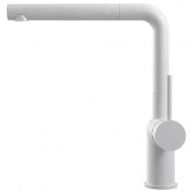 Weiß Küchenarmatur Ausziehbarer Schlauch - Nivito RH-630-EX