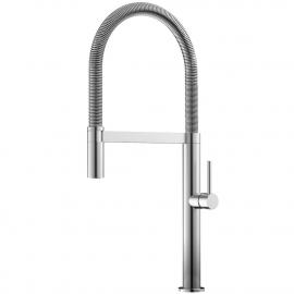 Edelstahl Küche Wasserhahn Ausziehbarer Schlauch - Nivito SH-100